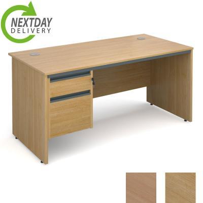 Dams Maestro 18 Panel Straight Office Desk Single