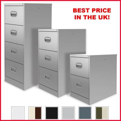 Silverline Kontrax Filing Cabinet