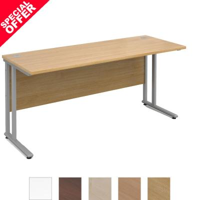Active M25 SL Straight Desk | 600 Deep