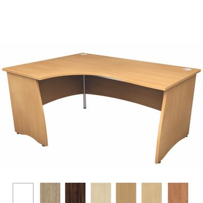 LP Atmosphere Corner Crescent Panel Desk