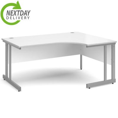 Dams Momento Corner Office Workstation White