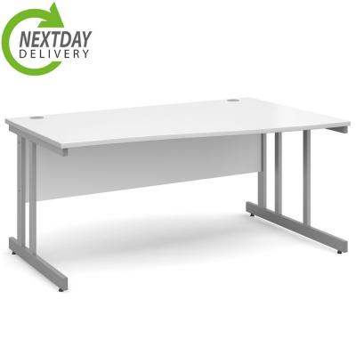 Dams Momento Wave Office Desk White