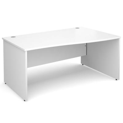 Dams Maestro 25 PL Wave Office Desk White