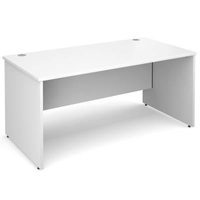 Dams Maestro 25 PL Straight Office Desk White
