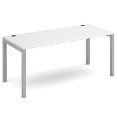 Dams Connex White Single Bench Desk
