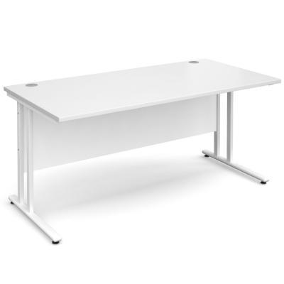 Dams Maestro 25 WL White Desk | Straight 800 Deep
