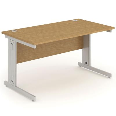 Value Office Desk | Straight Cable Managed