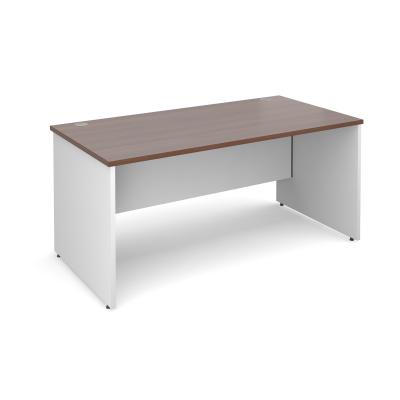 Dams Duo Panel Leg Straight Desk