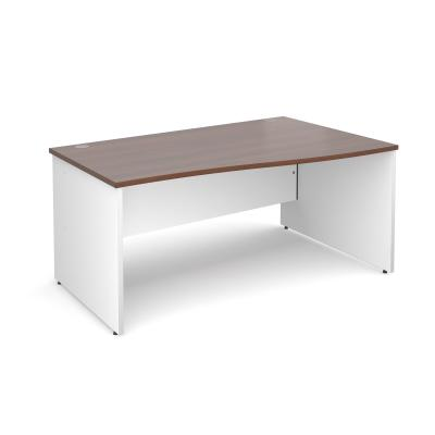 Dams Duo Panel Leg Wave Desk