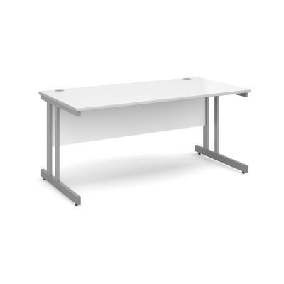 Dams Contract II Straight Office Desk (Momento)