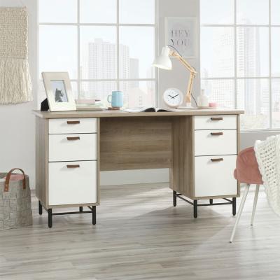 Avon Leather Handled Desk
